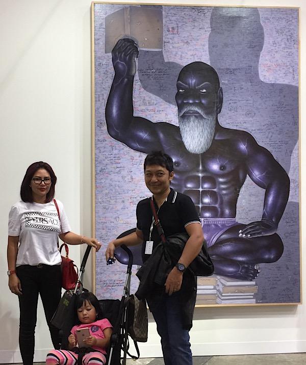 Masriadi Exhibition at Art Basel, Hongkong 2019 – I Nyoman Masriadi